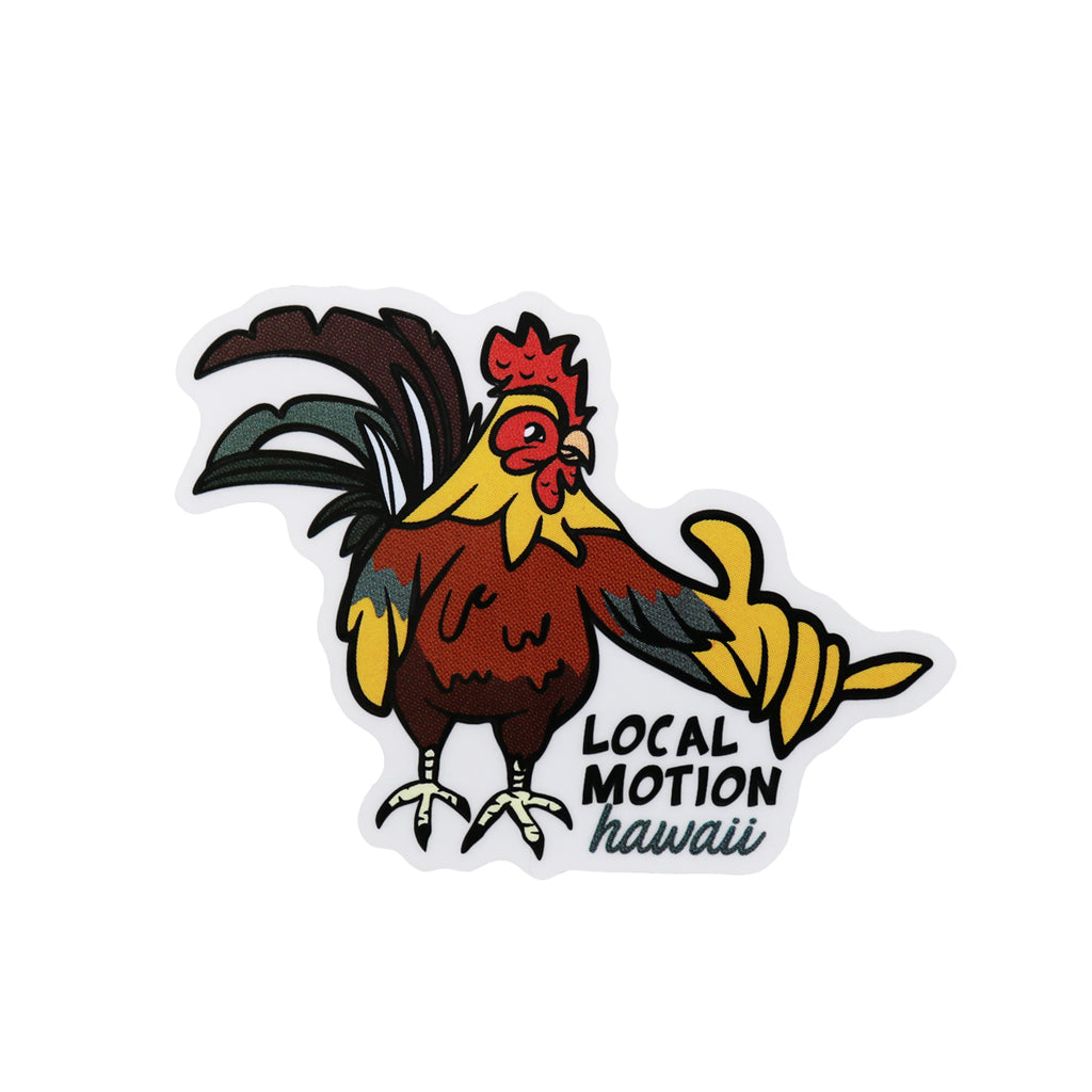 ROOSTAH DECAL (DECCHKN)