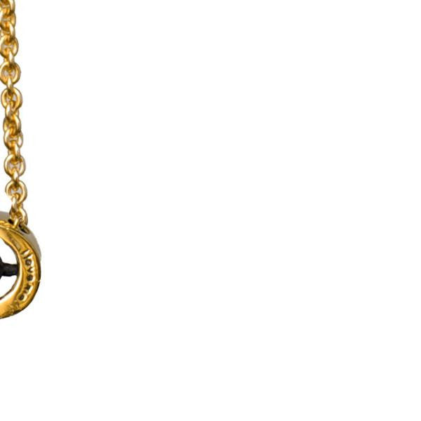 i love me necklace (diamonds)