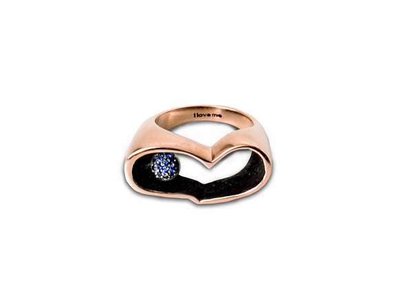 i love me ring (colored sapphires)