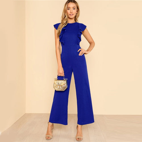 Butterfly Sleeved Jumpsuit