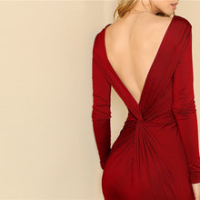 Load image into Gallery viewer, Backless Twist Dress