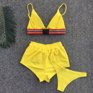 3PC Triangle BIkini