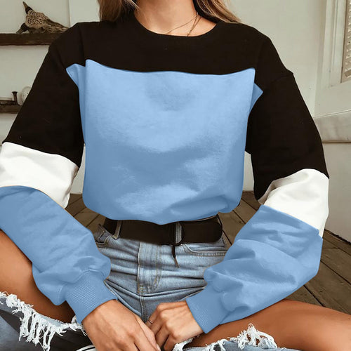 Blue Sweater With Waist Ties