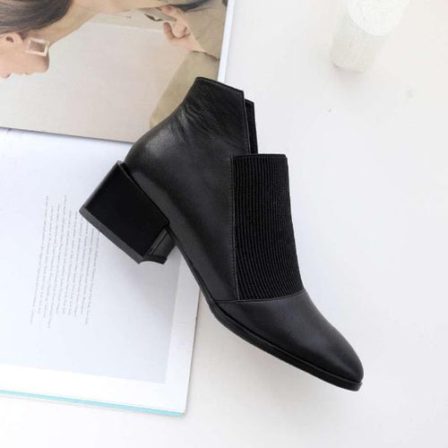 Leather Chelsea Ankle Boots
