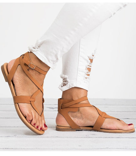 Ankle Strapped Toe Sandals