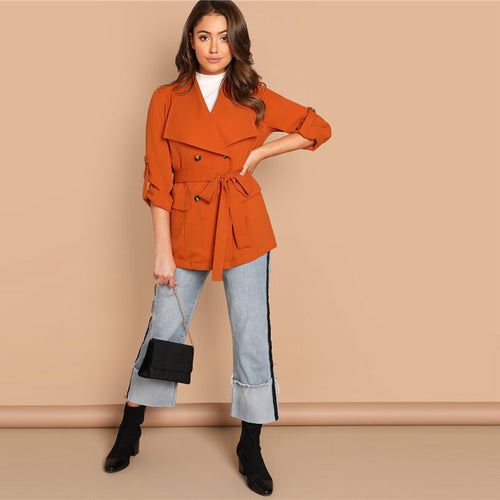 Orange Waterfall Jacket