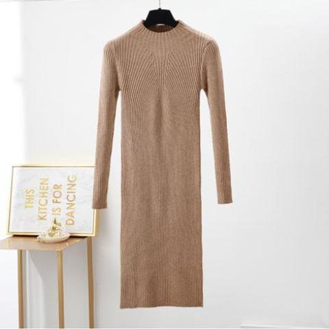 Knitted Bodycon MidiDress