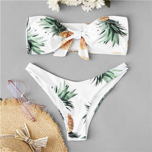 Load image into Gallery viewer, White Pineapple Bikini