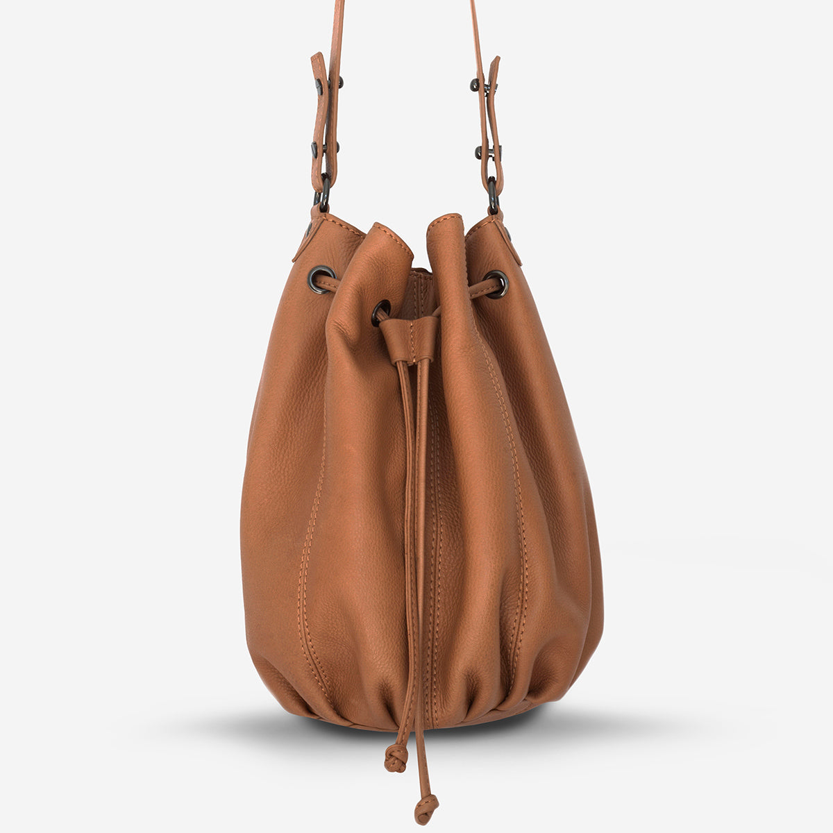 Status Anxiety Distant Lover Women's Tan Leather Bag