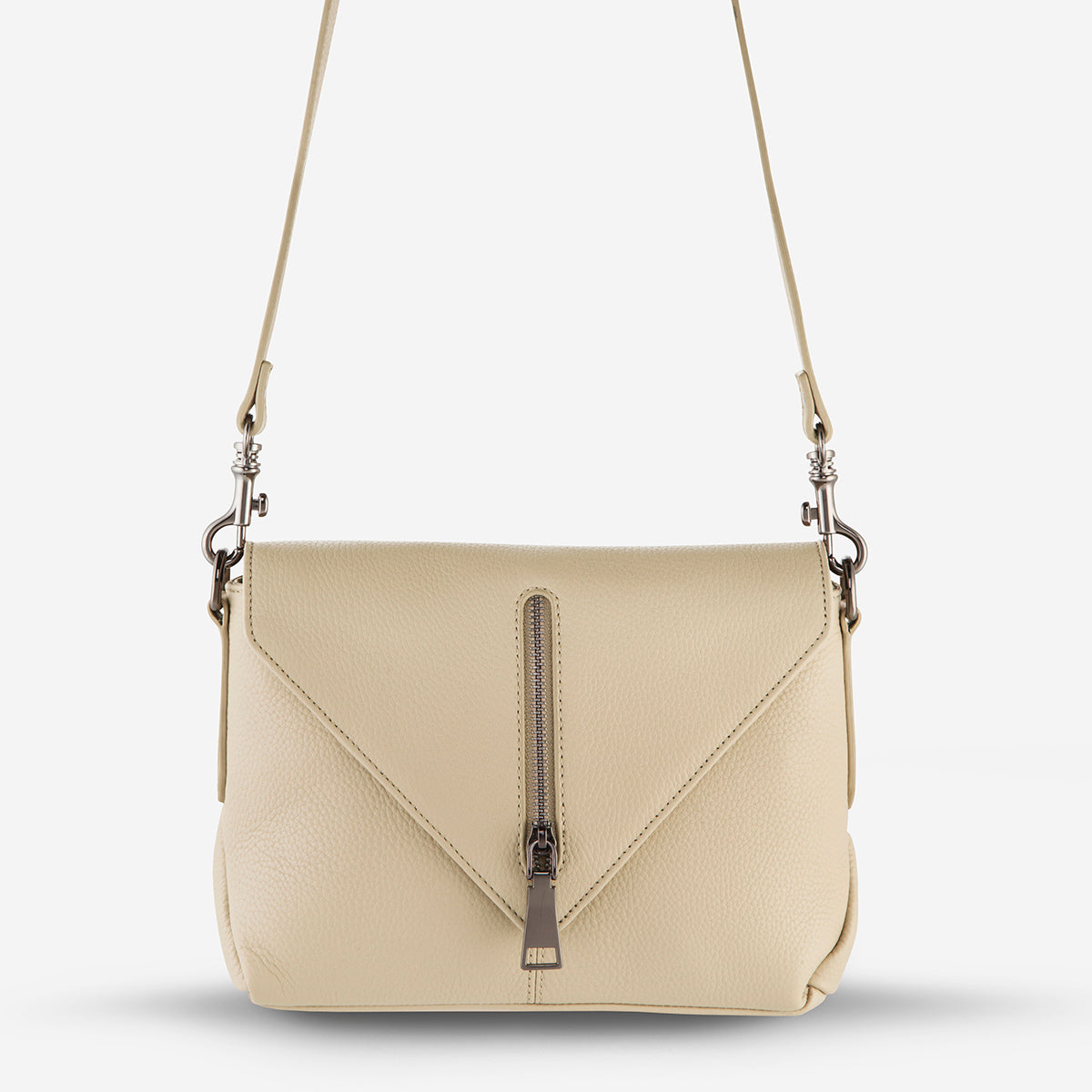 Status Anxiety Exile Women's Leather Crossbody Bag - Nude