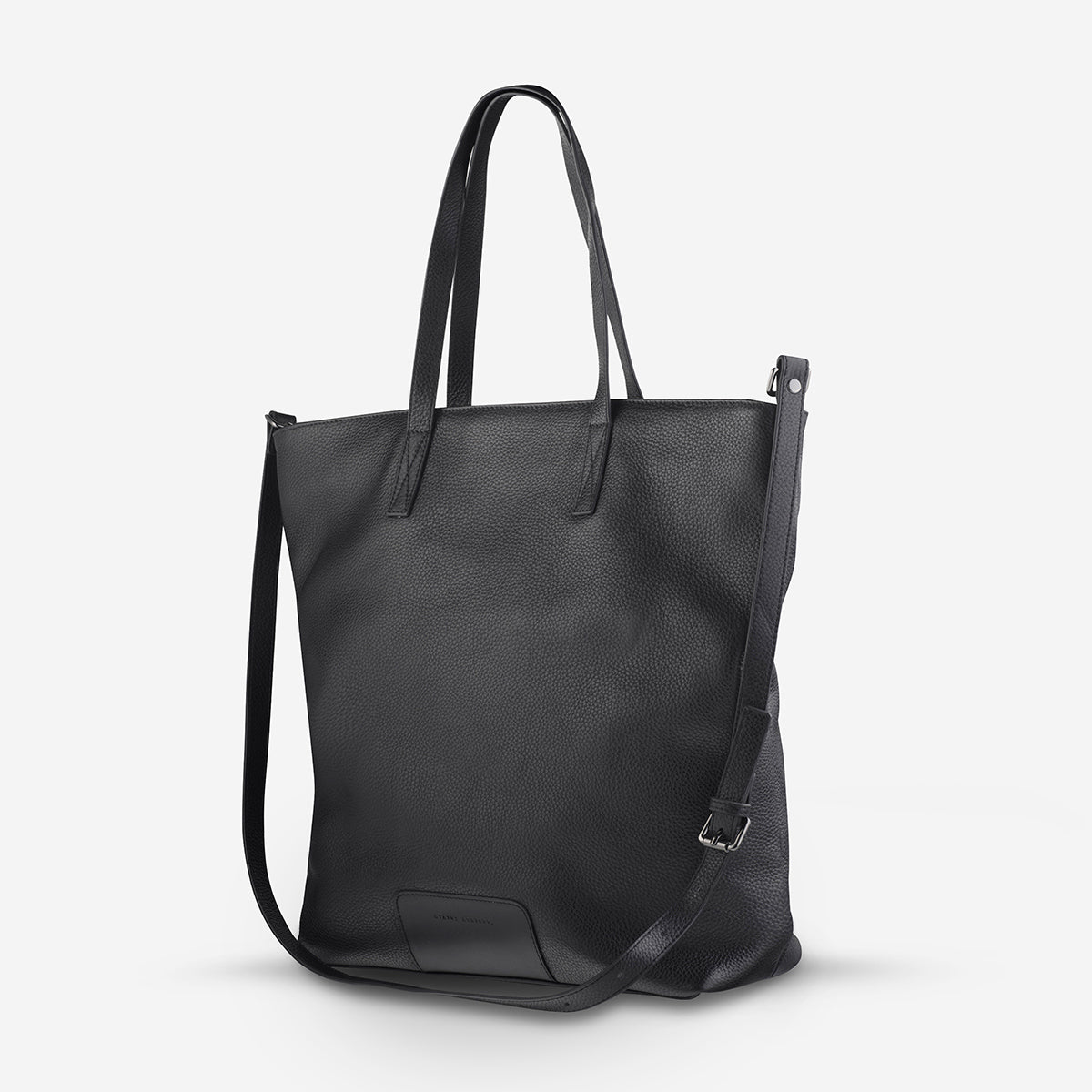 Status Anxiety Fire On The Vine Women's Large Leather Tote Bag - Black