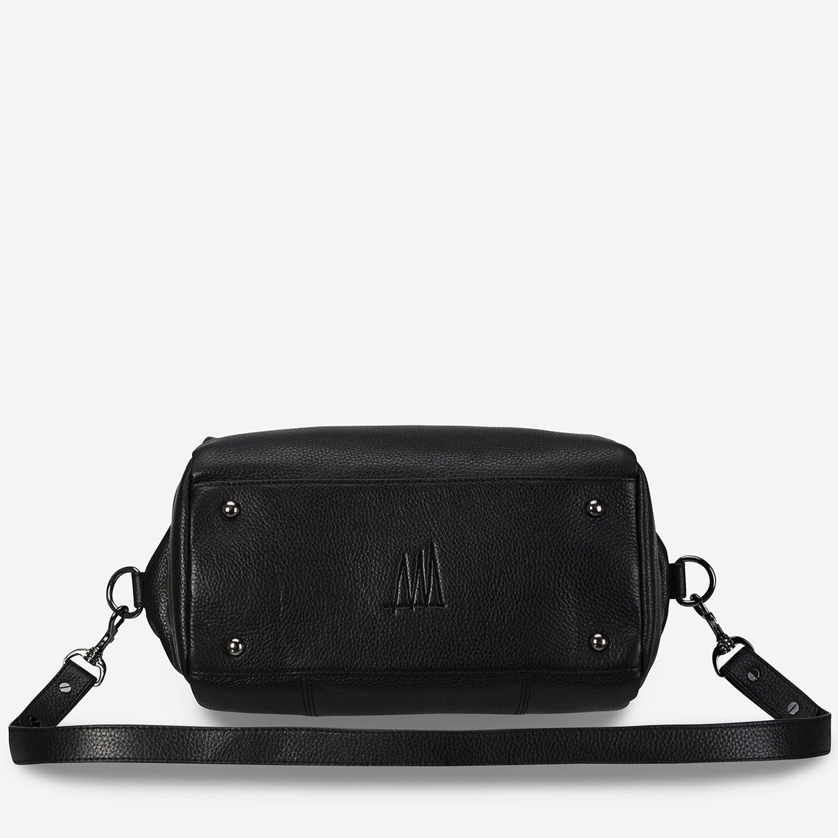 Status Anxiety Force Of Being Large Leather Bag - Black