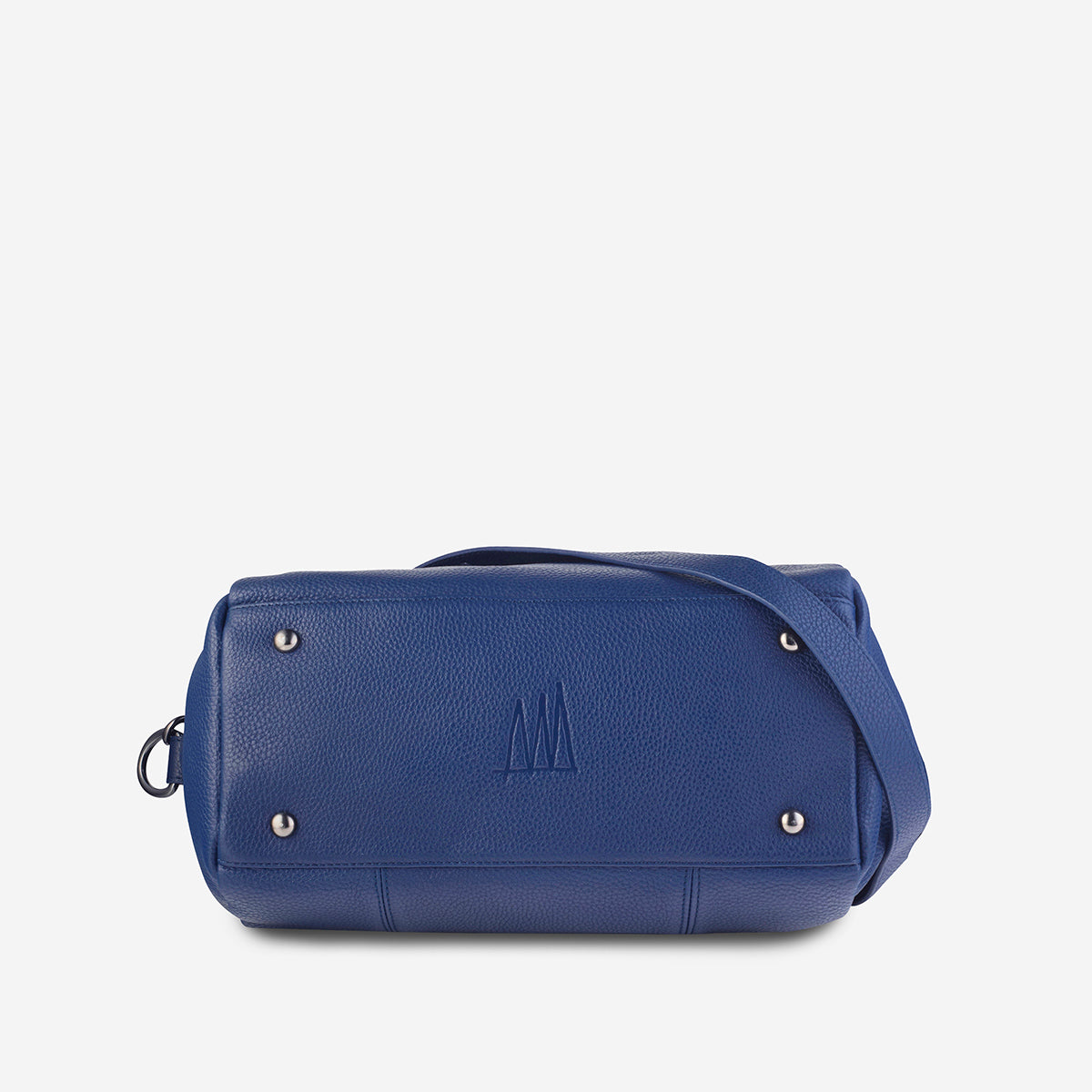 Status Anxiety Force Of Being Large Leather Bag - Blue