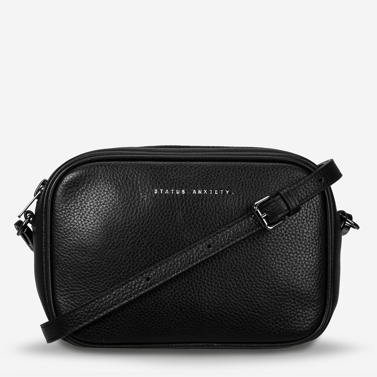 Status Anxiety Plunder Women's Crossbody Leather Bag - Black