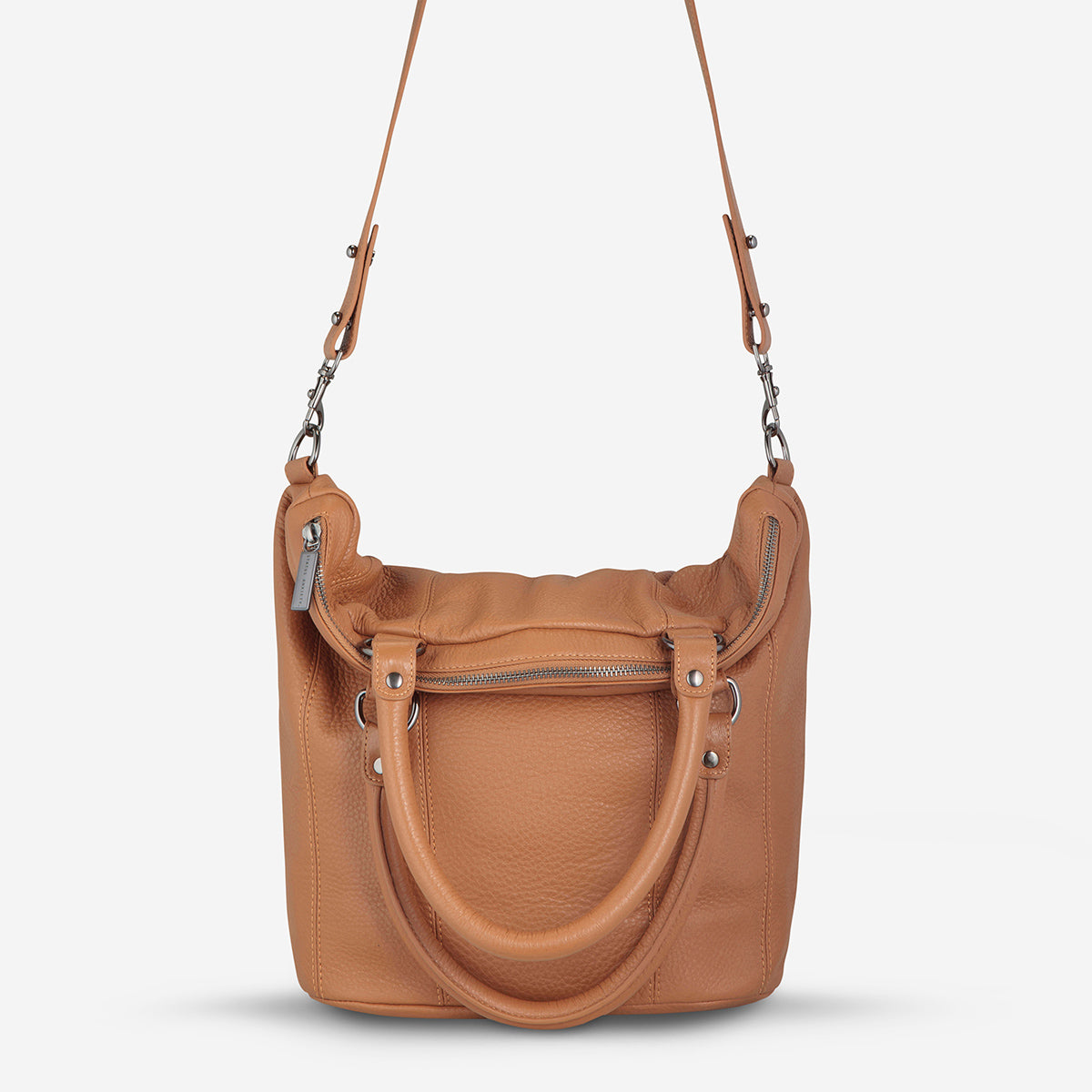 Status Anxiety Some Secret Place Leather Bag - Tan