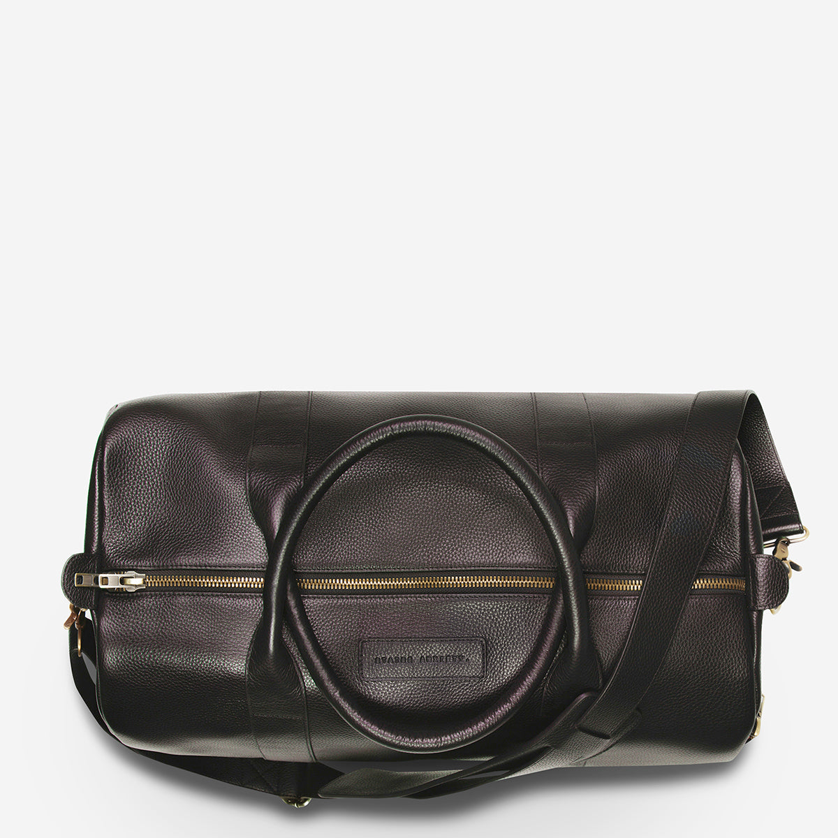 Status Anxiety Succession Leather Duffle Bag - Chocolate