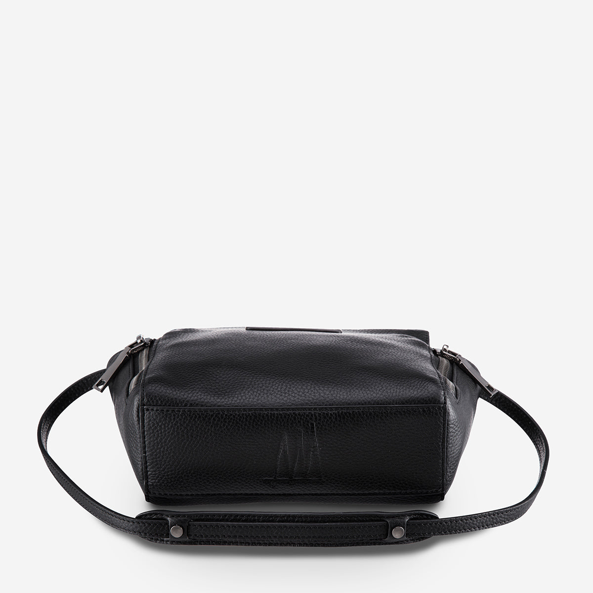 Status Anxiety The Ascendants Leather Bag - Black Pebble