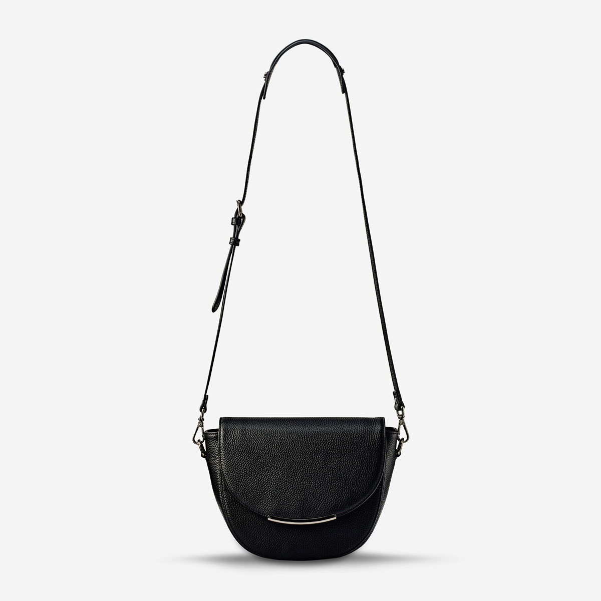 Status Anxiety The Oracle Women's Leather Crossbody Bag - Black