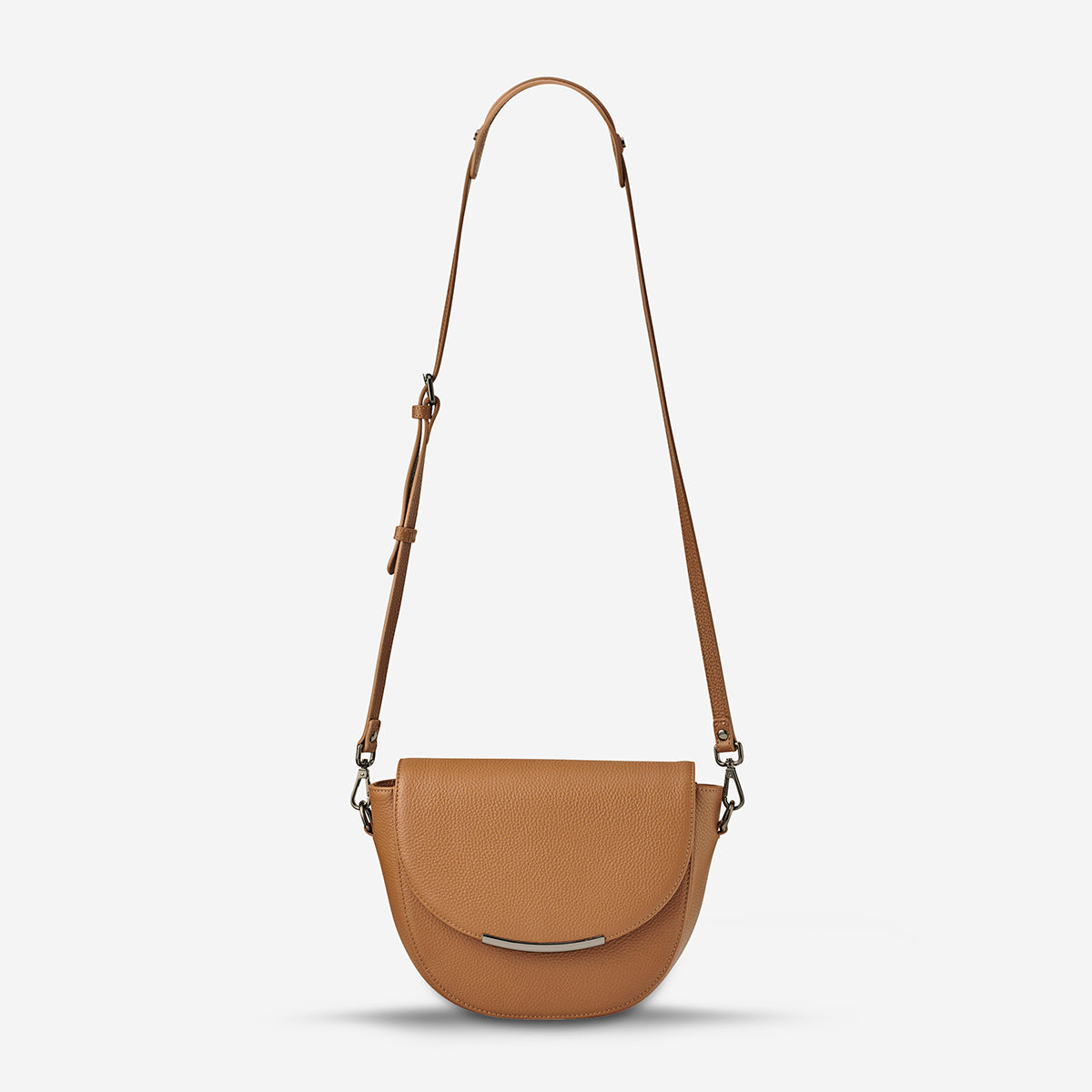 Status Anxiety The Oracle Women's Leather Crossbody Bag - Tan