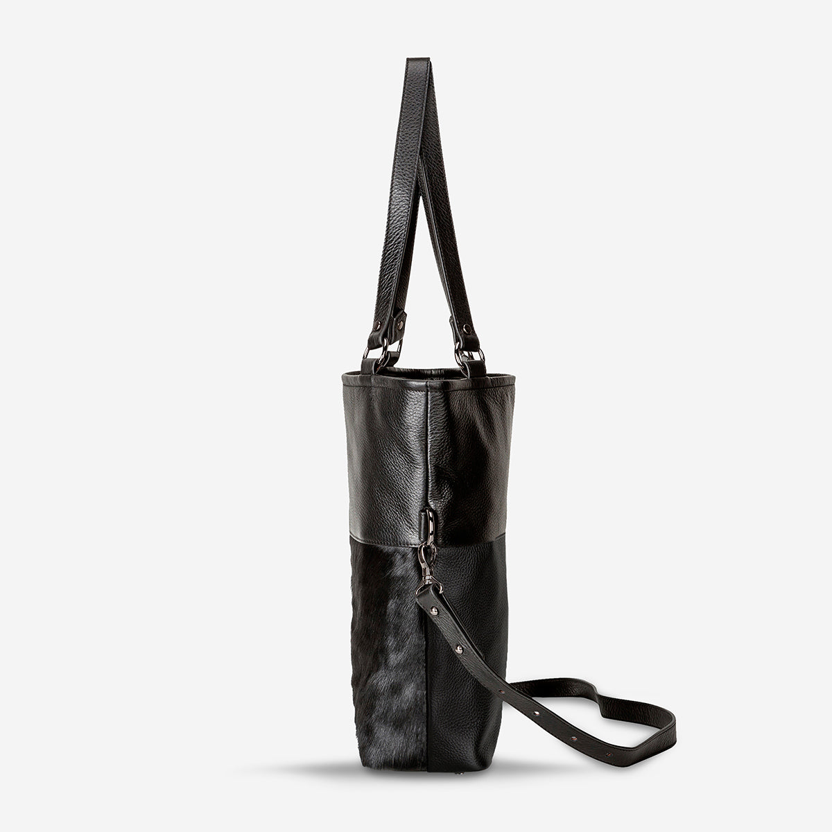 Status Anxiety Wasteland Handbag - Black Fur