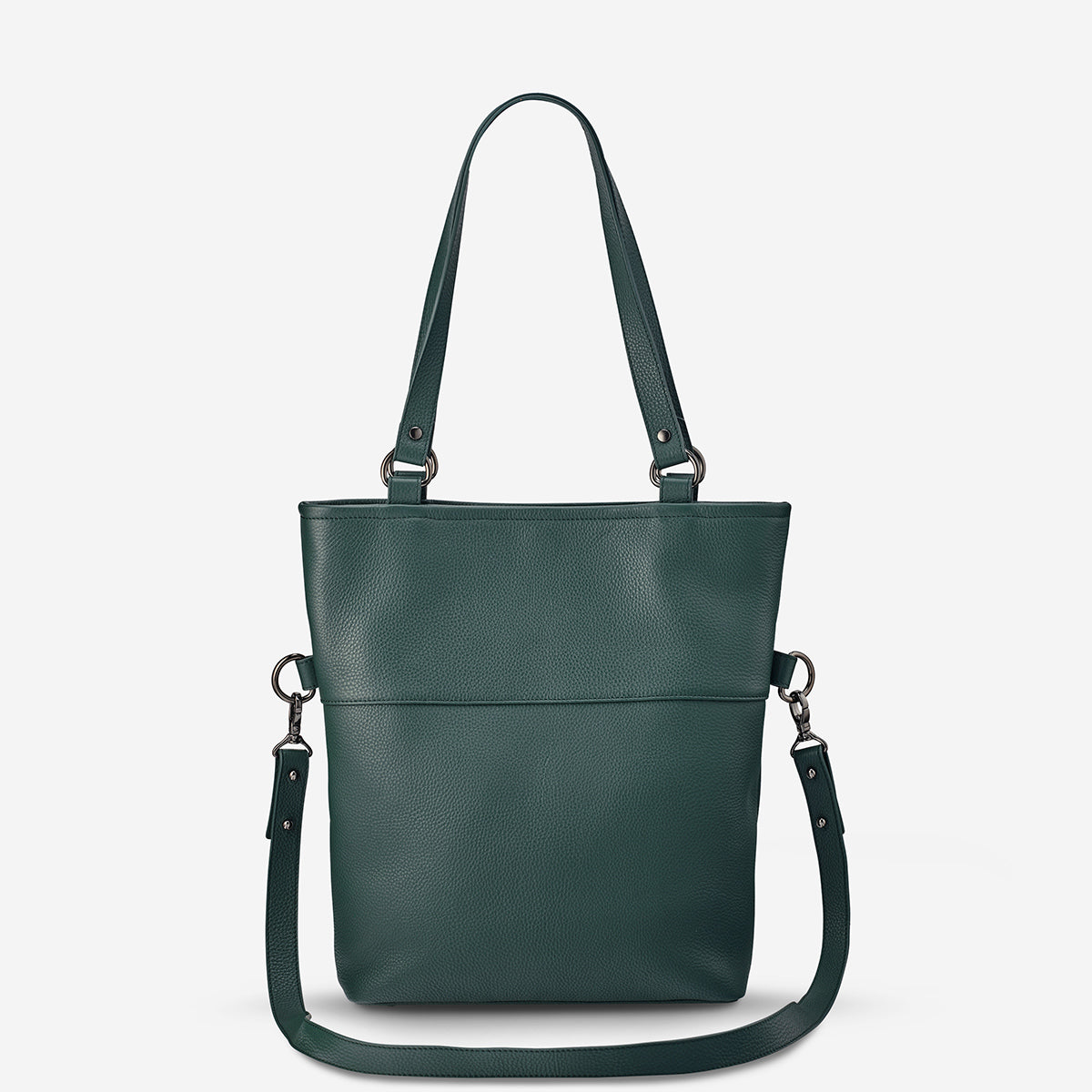 Status Anxiety Wasteland Women's Leather Tote Bag - Green