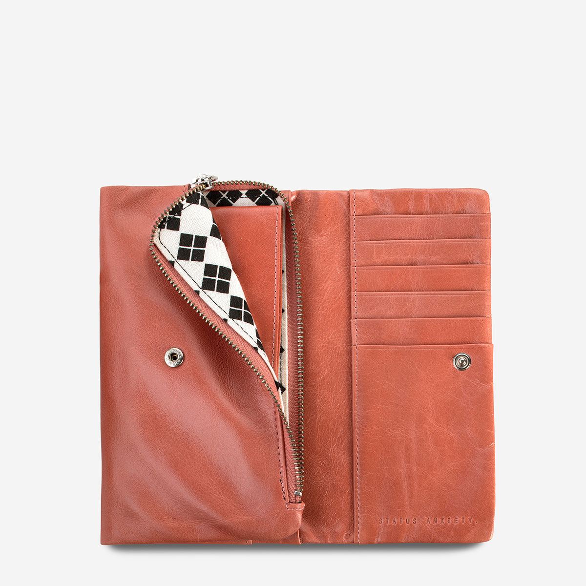Status Anxiety Audrey Leather Wallet - Pink