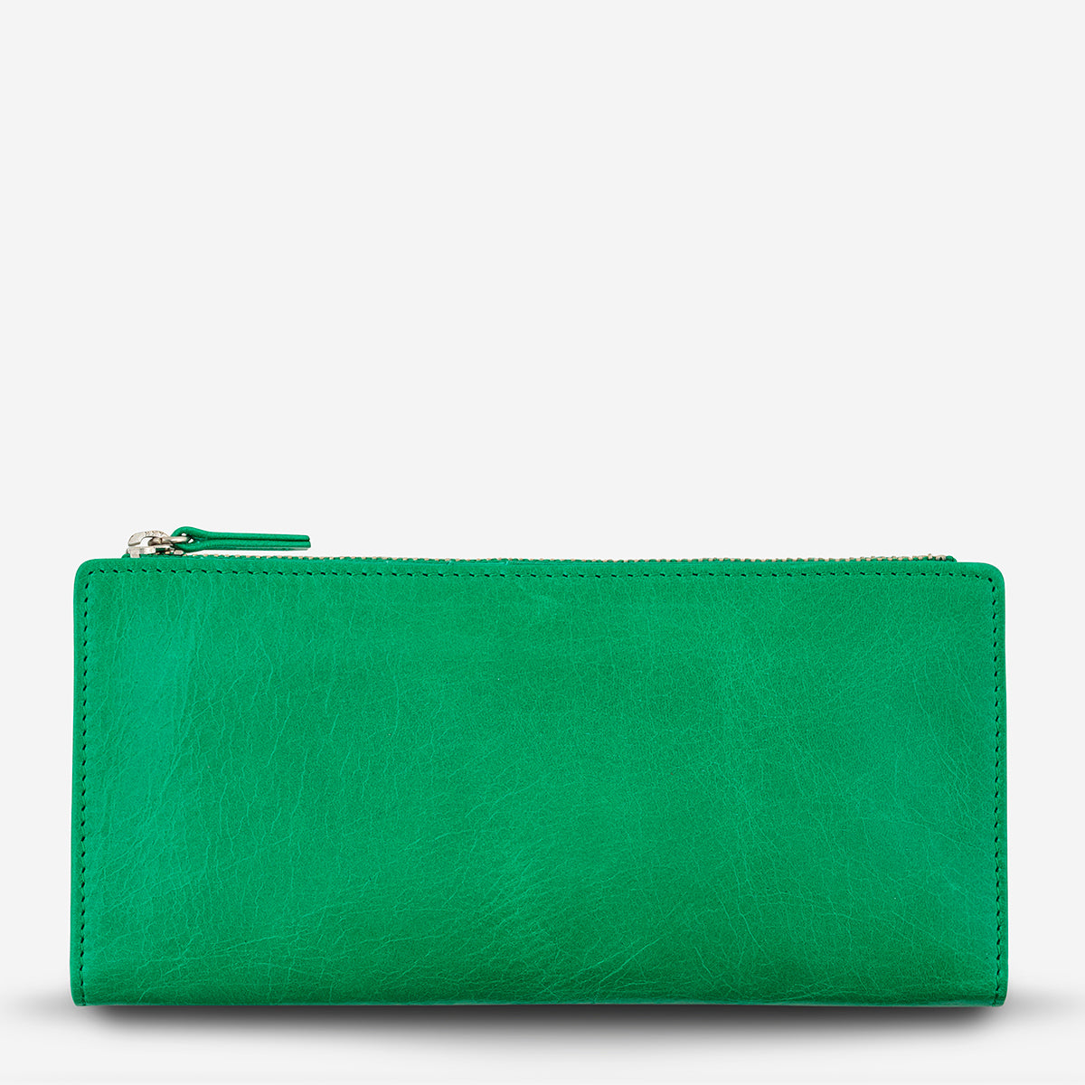 Status Anxiety Dakota Leather Wallet - Emerald