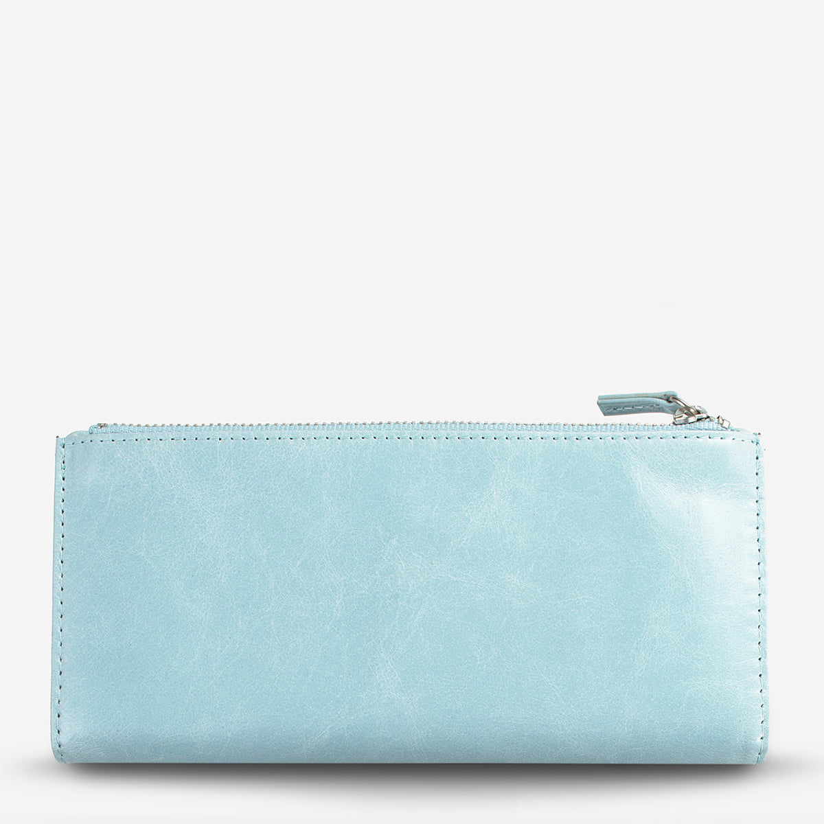 Status Anxiety Dakota Leather Wallet - Sky