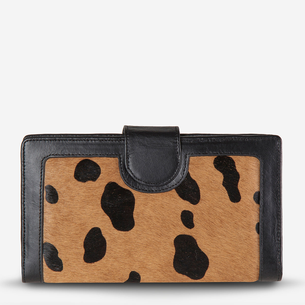 Status Anxiety Doris Large Leather Wallet - Wild Cat