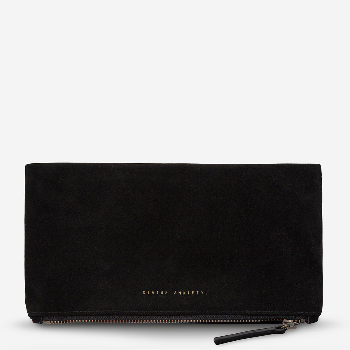 Status Anxiety Feel The Night Clutch - Black