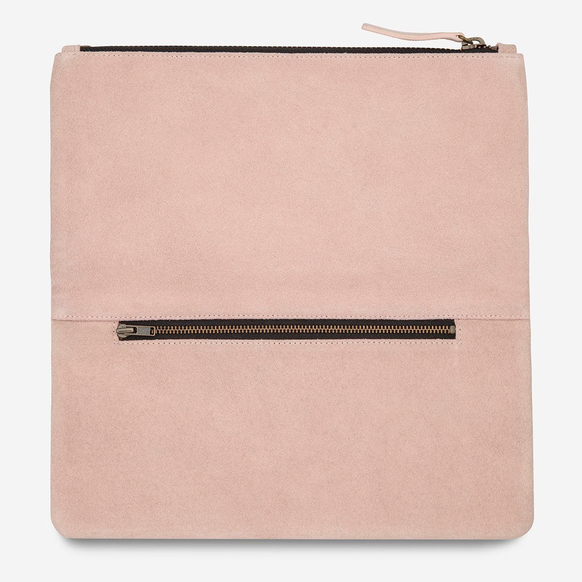 Status Anxiety Feel The Night Clutch - Dusty Pink
