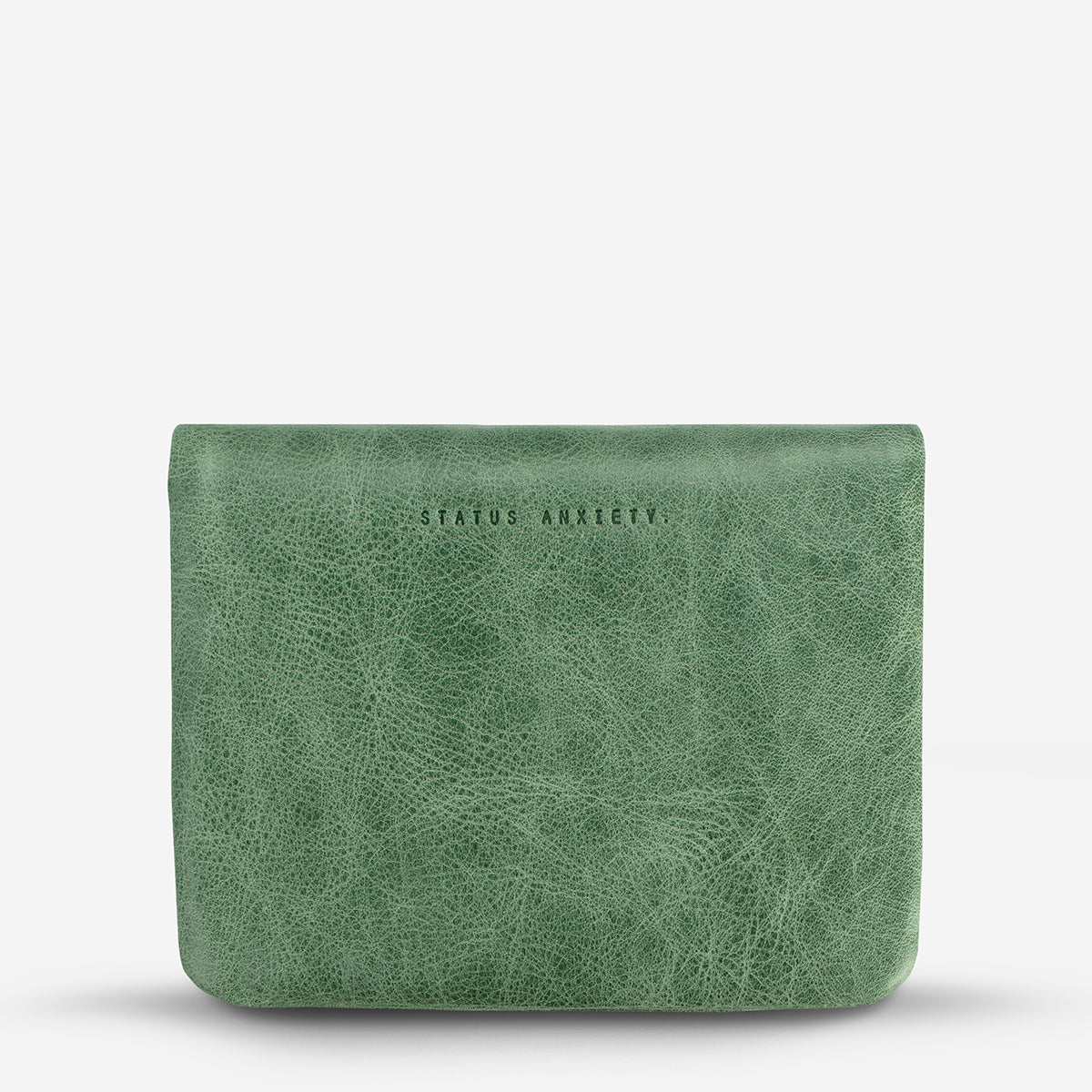 Status Anxiety Norma Women's Leather Wallet - Emerald