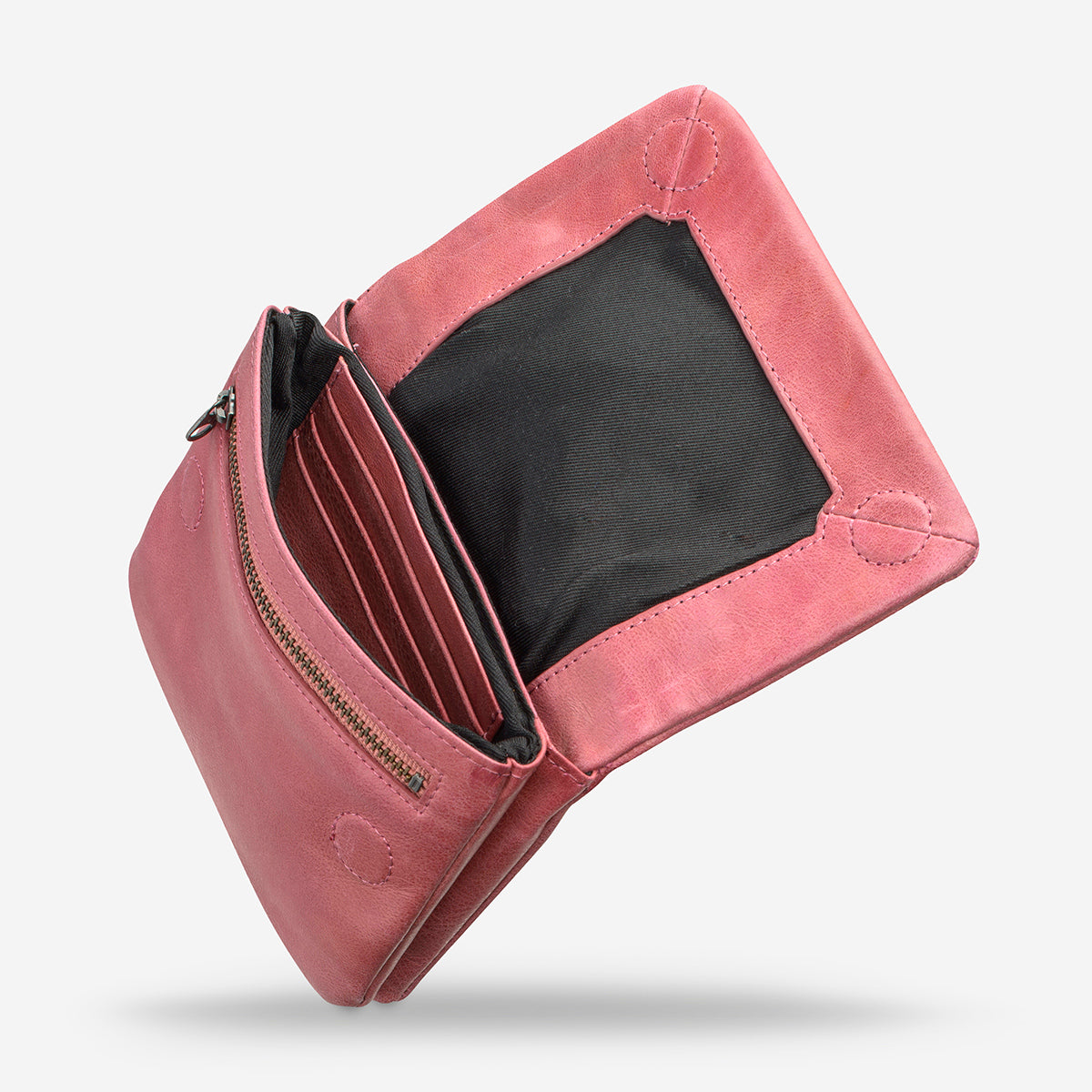 Status Anxiety Norma Women's Leather Wallet - Pink