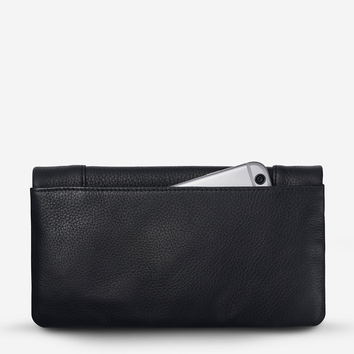 Status Anxiety Some Type Of Love Women's Leather Wallet - Black