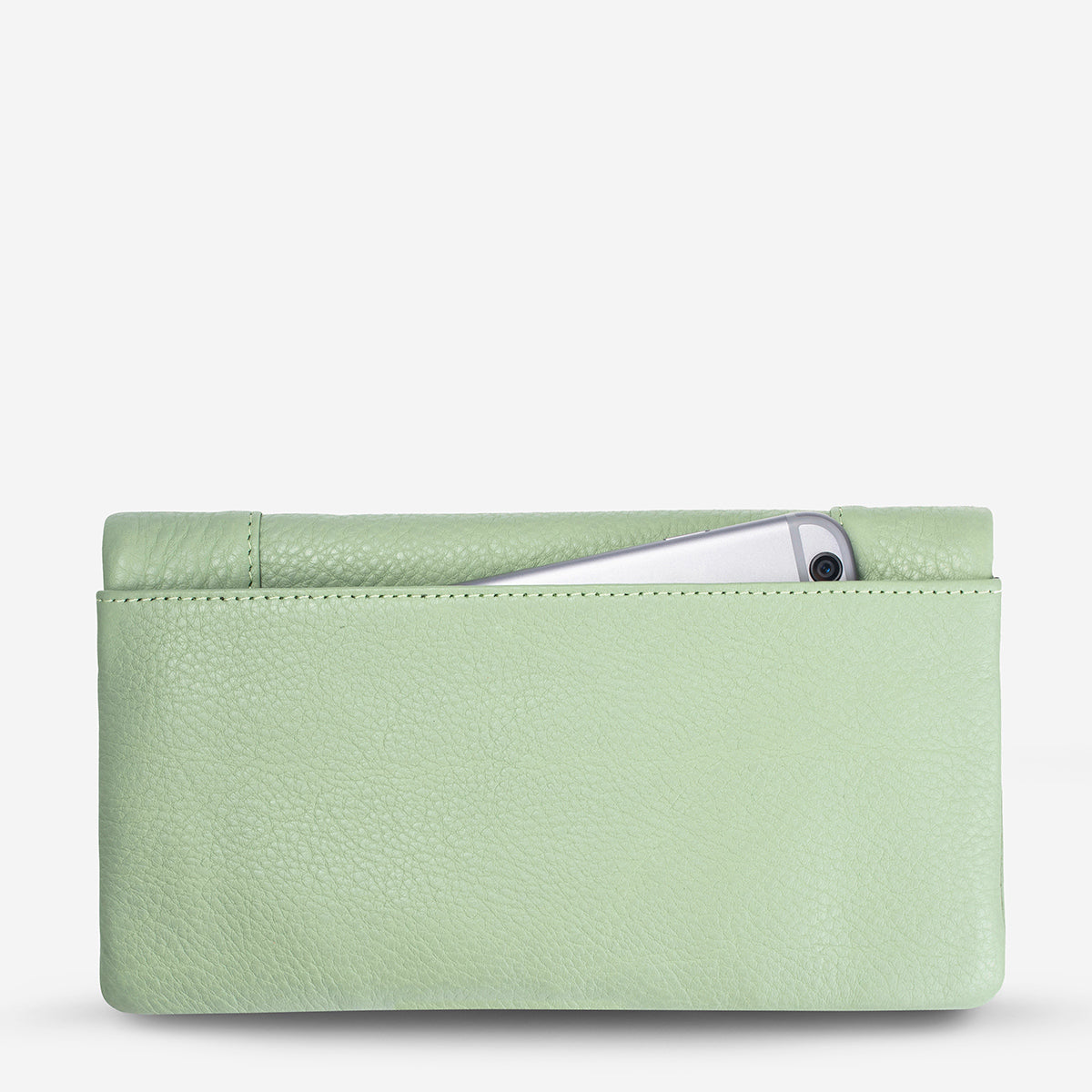 Status Anxiety Some Type Of Love Women's Leather Wallet - Mint