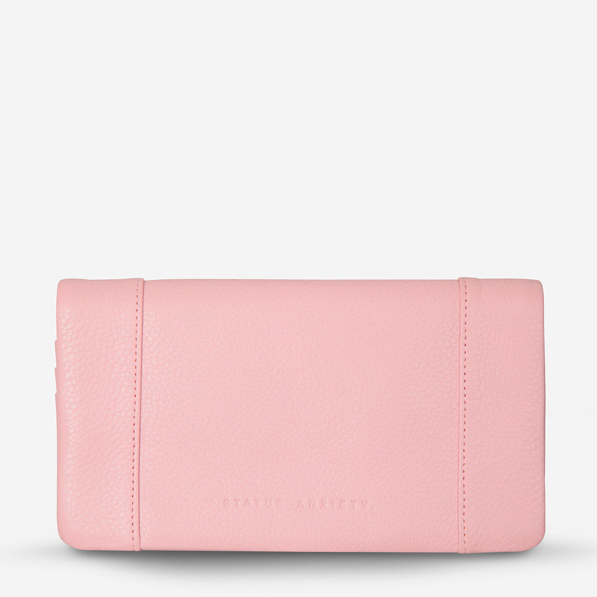 Status Anxiety Some Type Of Love Leather Wallet - Pink