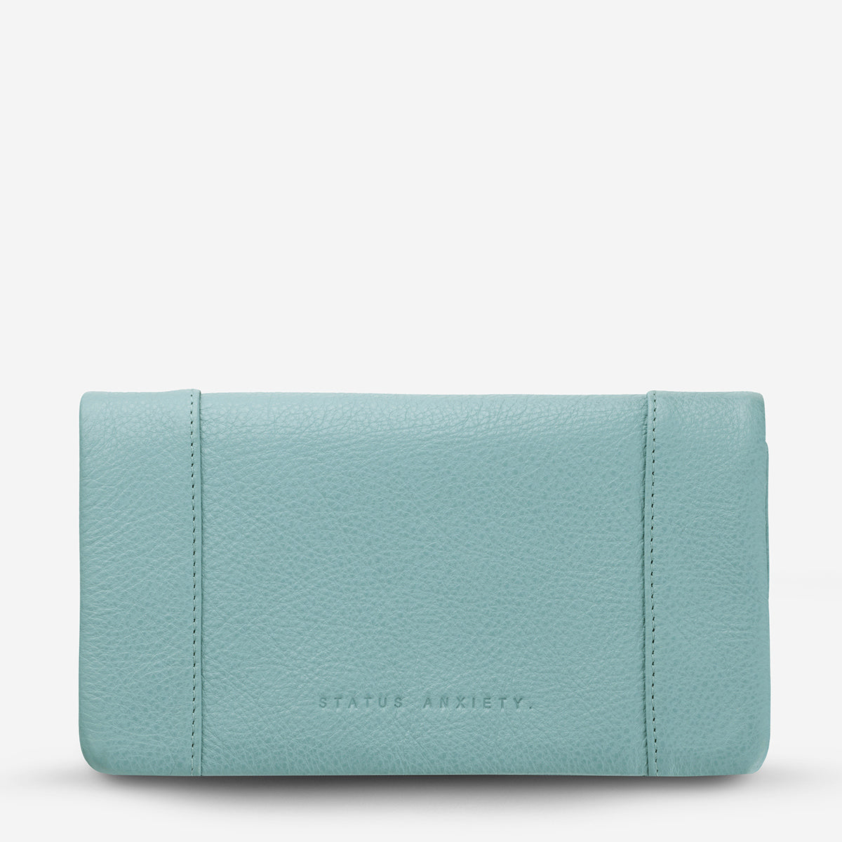 Status Anxiety Some Type Of Love Women's Leather Wallet - Sky