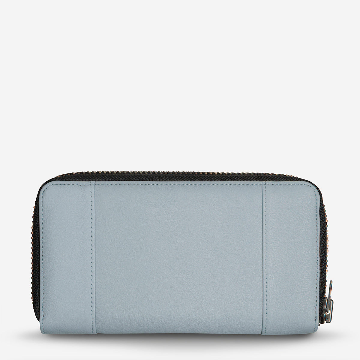 Status Anxiety State Of Flux Leather Wallet - Arctic Grey