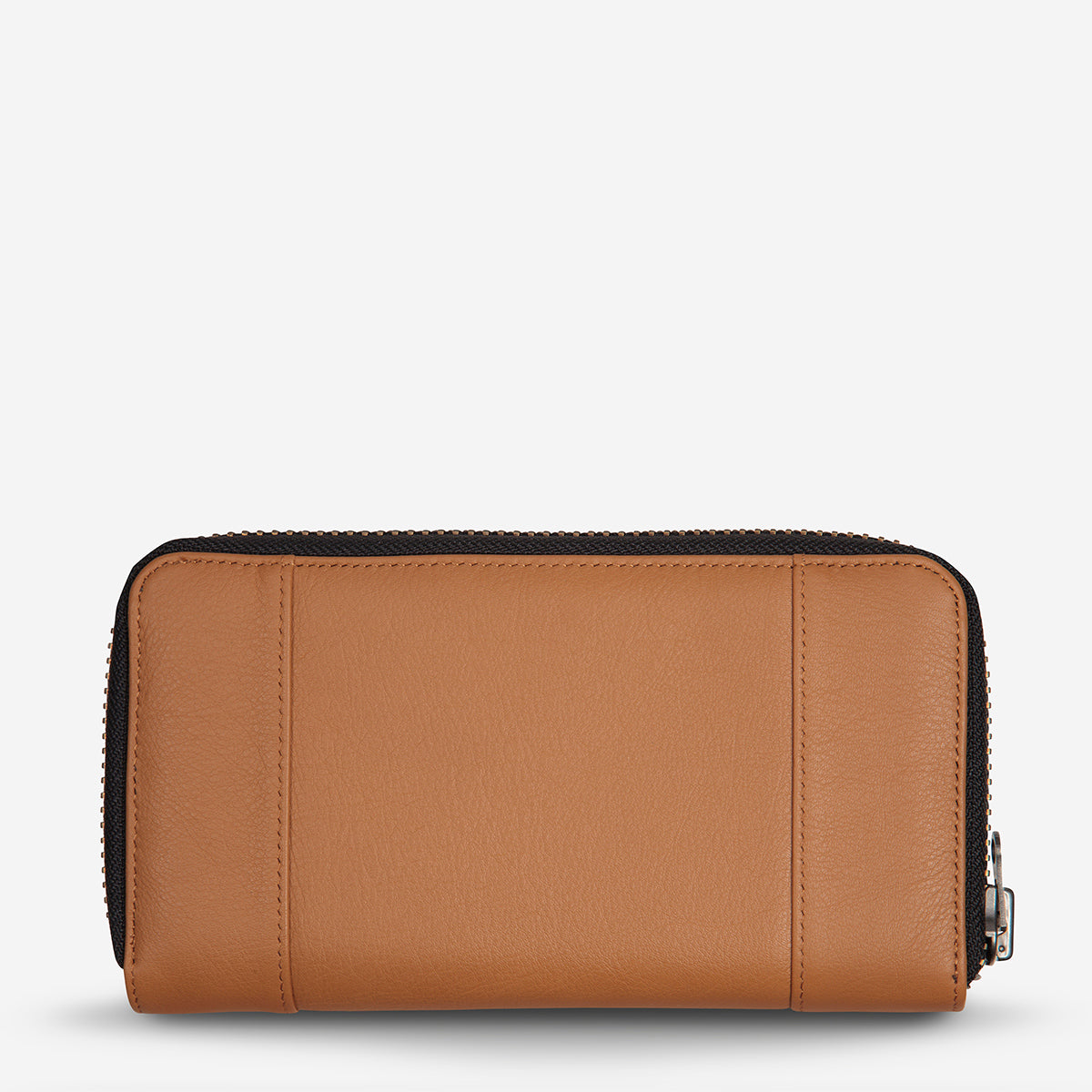 Status Anxiety State Of Flux Leather Wallet - Tan