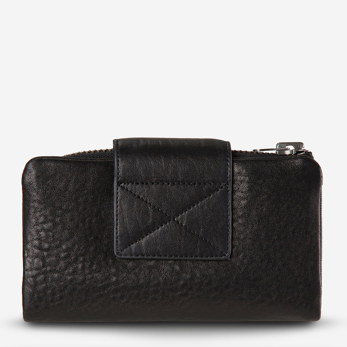 Status Anxiety The Fallen Leather Wallet - Black