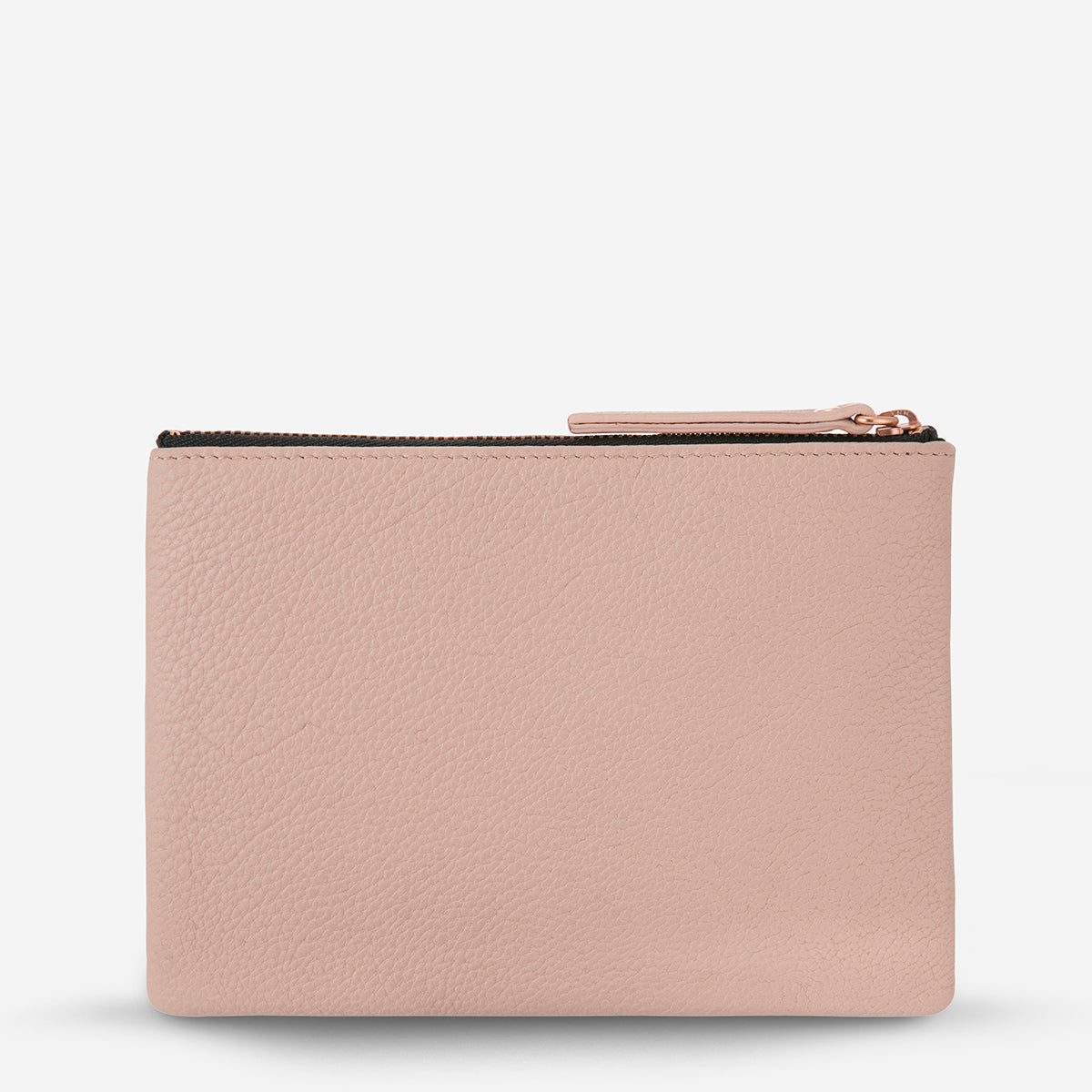 Status Anxiety Treacherous Women's Leather Pouch - dusty pink