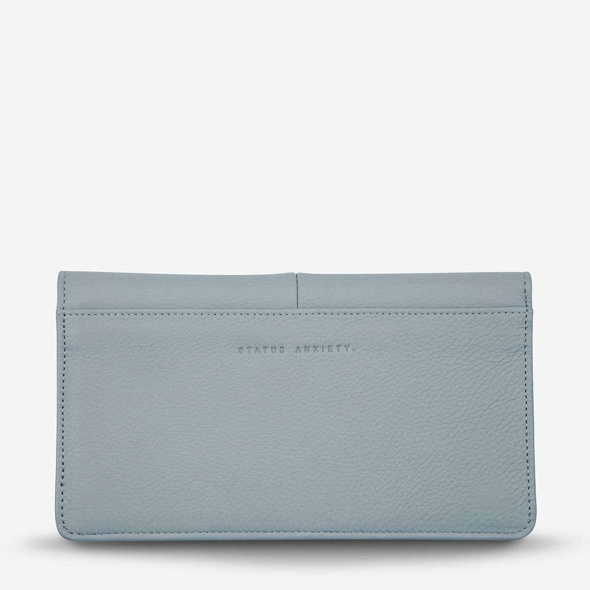 Status Anxiety Triple Threat Women's Leather Wallet - Arctic Grey