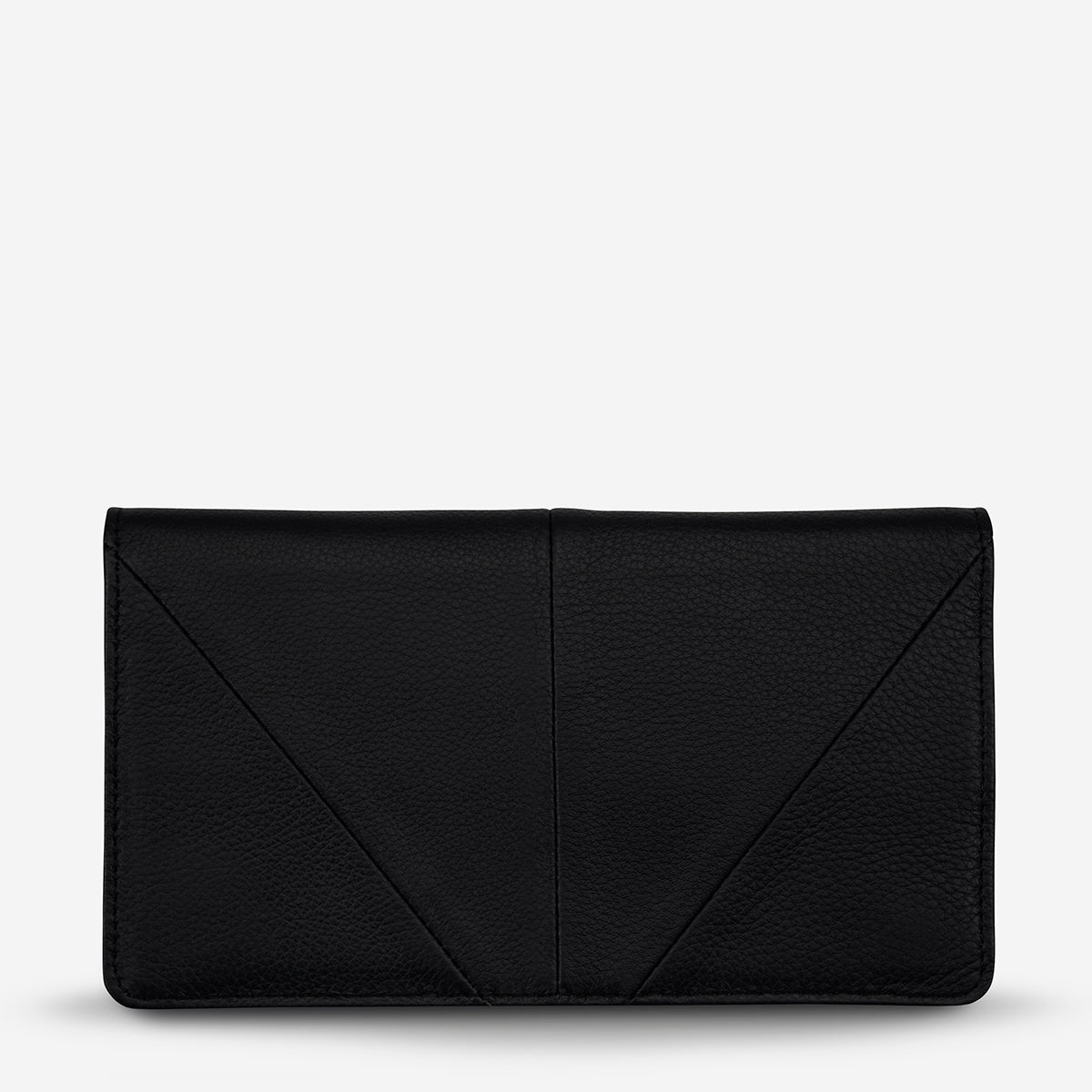Status Anxiety Triple Threat Leather Wallet - Black