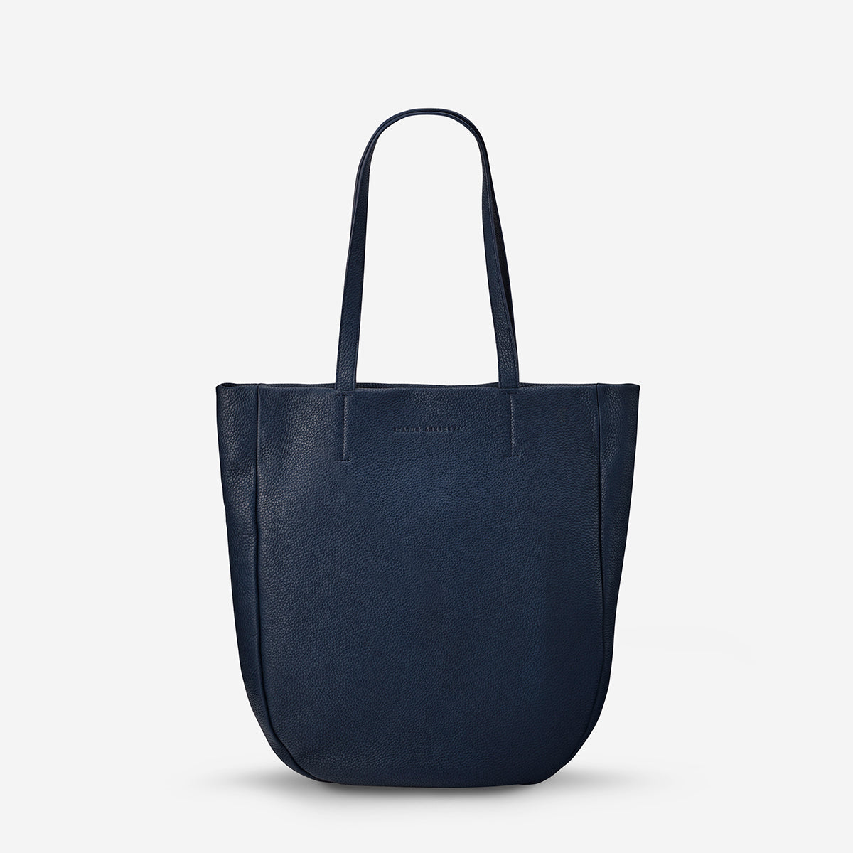 APPOINTED - navy blue · Status Anxiety Appointed Women s Large Leather Tote  Bag - Navy ... dcef9d3b54