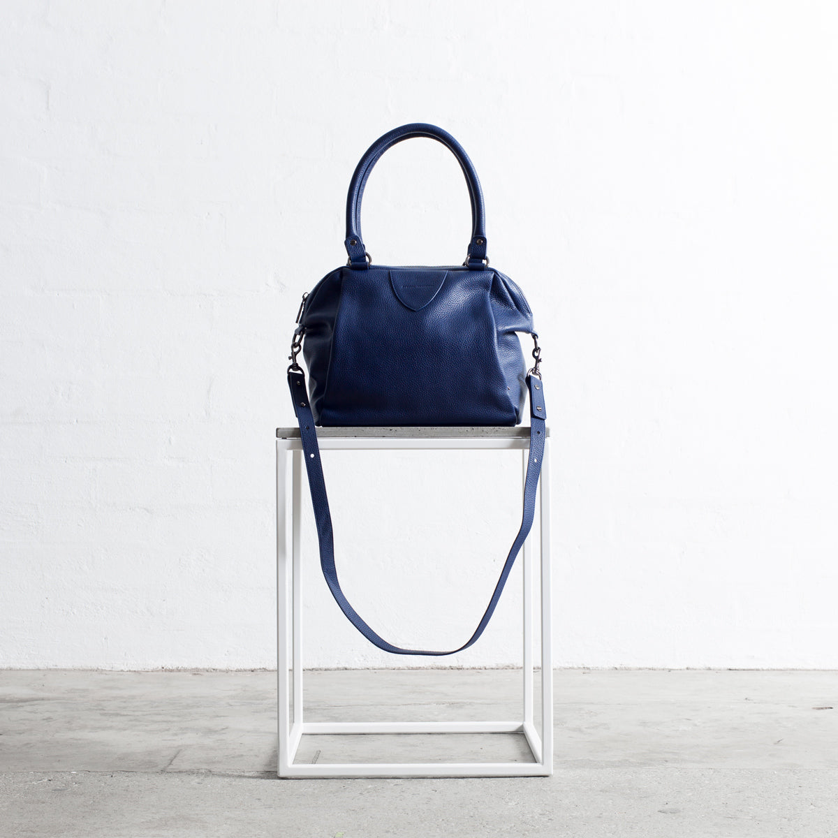 Status Anxiety Force Of Being Women's Leather Bag Blue