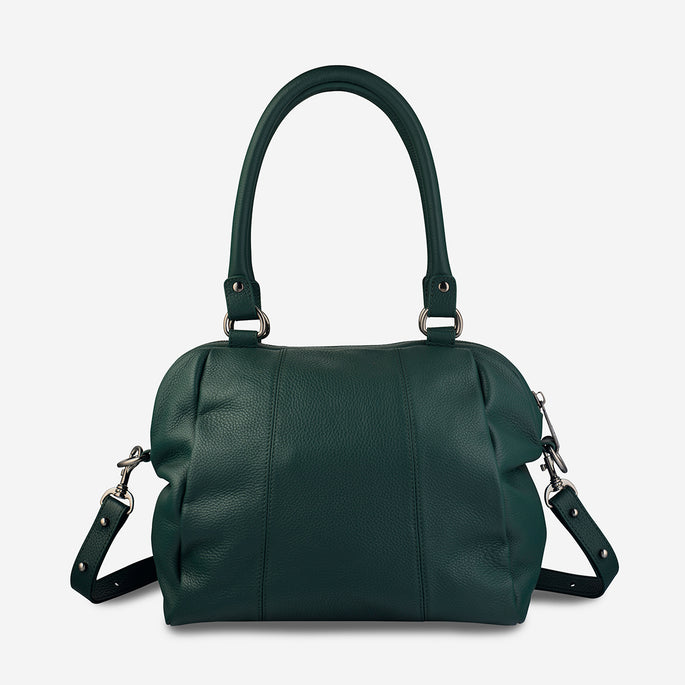 Status Anxiety Force Of Being Large Leather Bag - Green