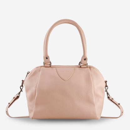 e1abc4cb21 Status Anxiety Force Of Being Large Leather Bag - Dusty Pink