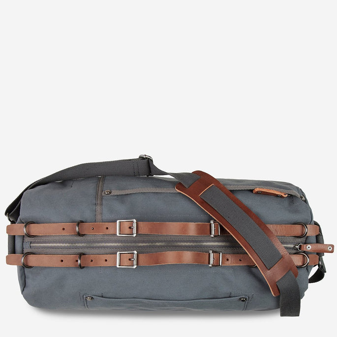 Status Anxiety The Forgotten Many Duffle Bag - Charcoal