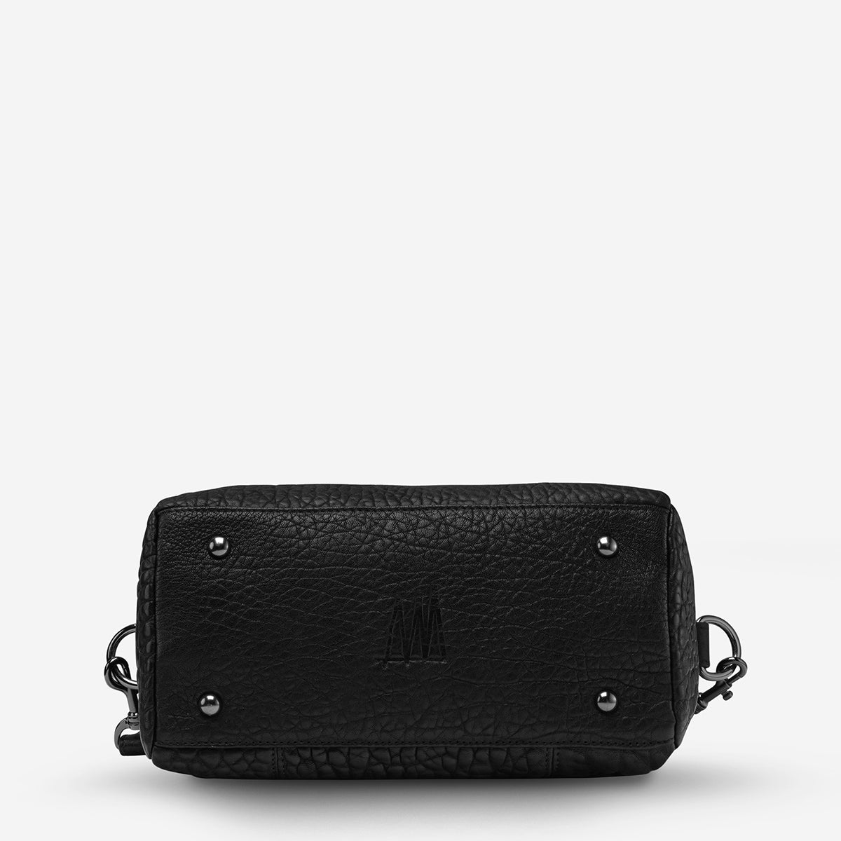 Status Anxiety Last Mountains Women's Leather Handbag - Black Bubble
