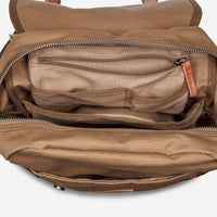 Status Anxiety Rebellion Backpack - Camel